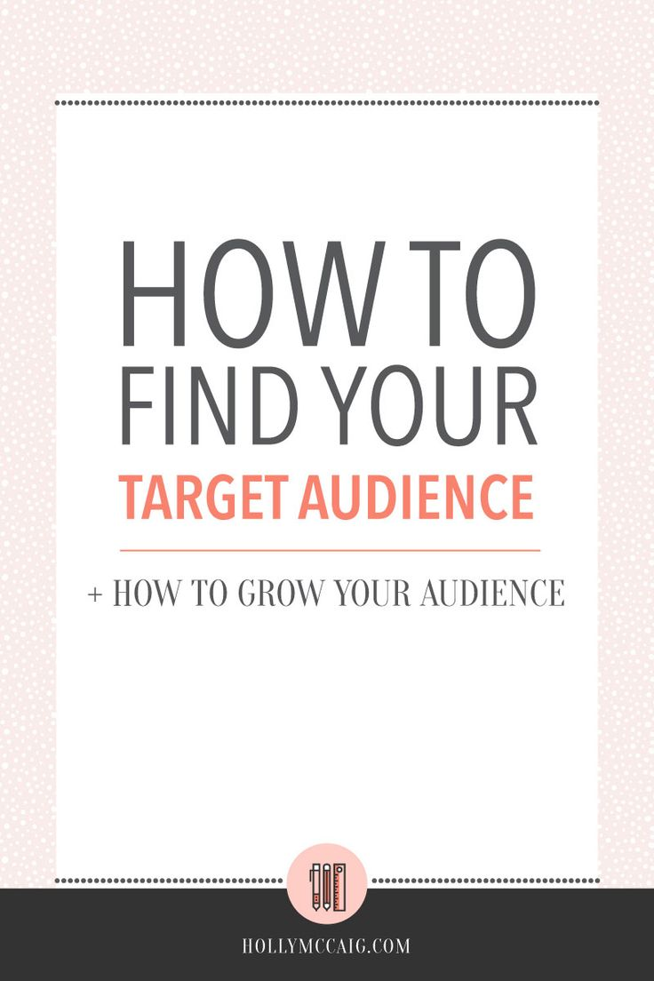 10 best finding your market images on pinterest business tips how to find your target audience solutioingenieria Image collections