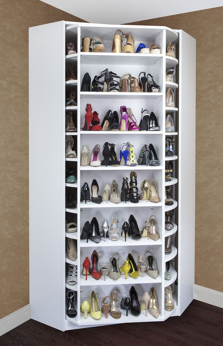 Revolving pocketbook heaven! its time to get organized, Match you shoes to your pocket books is just simple! Have your Own shoe-Mall in your own home!