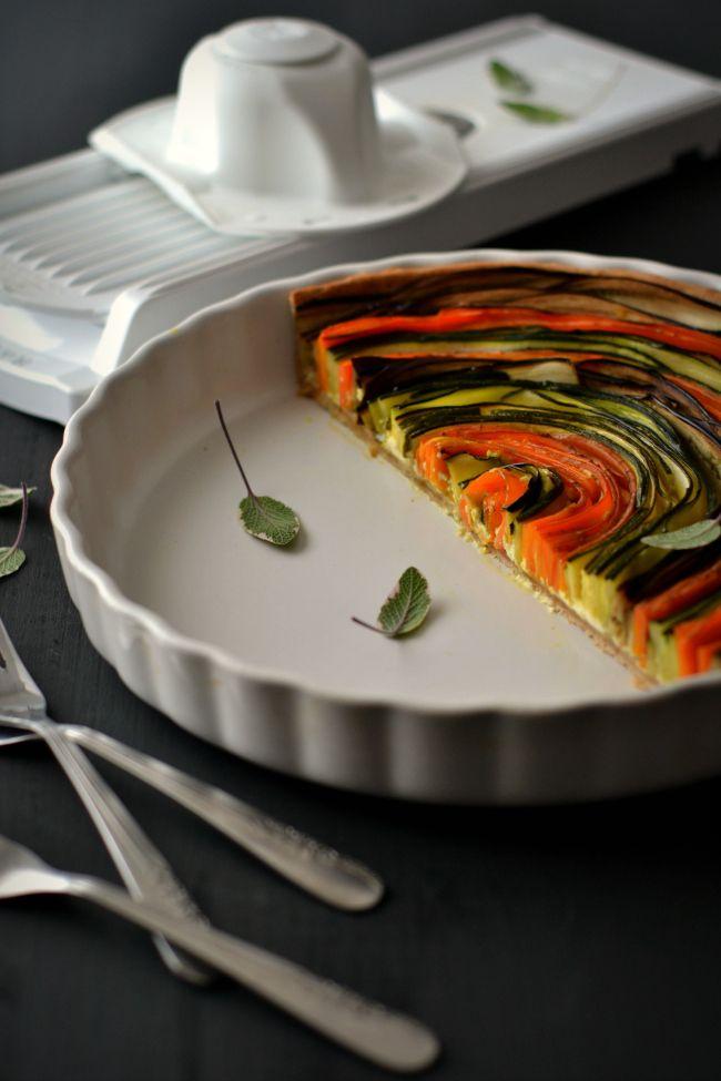 Sweet Gula: Veggie Roulade    Tarte Espiral de Legumes