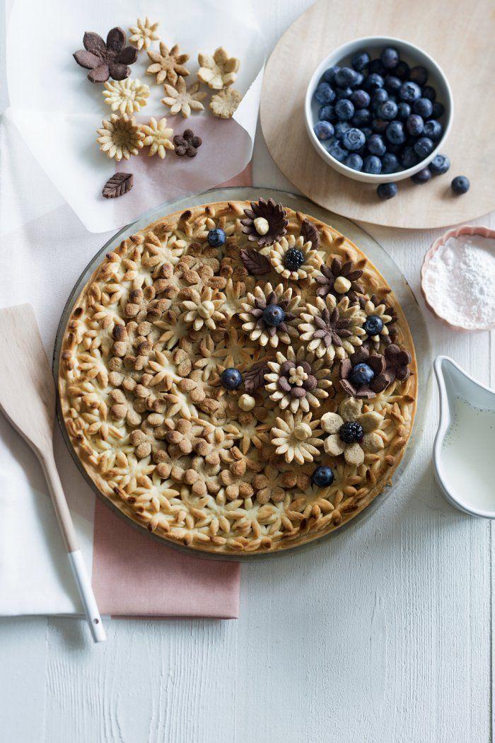 Recette : une tarte aux pommes comme un bouquet - Apple pie - Marie Claire Idées