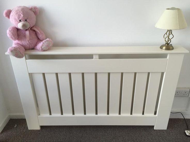White Made to Measure, Handmade radiator / Storage Heater Cover