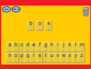 *▶Magnetische letters op het digibord