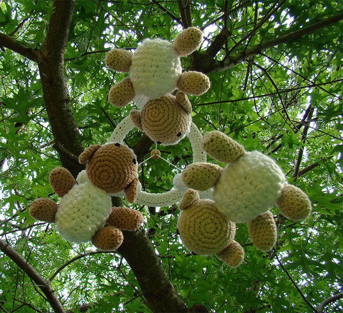 Haken toy - Crochet - Amigurumi Ovejitas Crochet Lamb ...