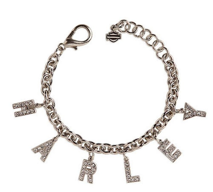 Harley Davidson Charm Bracelet: 38 Best Women's H-D Bracelets Images On Pinterest
