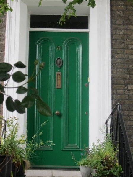 Sherwin Williams Derbyshire Front Door Color Green