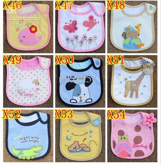 patrones de baberos de bebe | Al por mayor - los niños baberos impermeables del bebé esencial bib ...