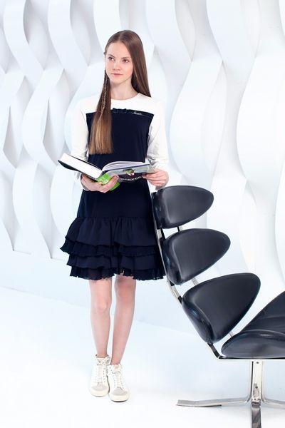 Школьная форма Choupette для девочки: сарафан, юбка с валанами, юбка плиссе