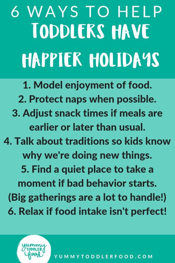 5 Simple Ways To Improve Toddler Behavior During The Holidays