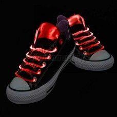 LED-kengännauhat, punainen