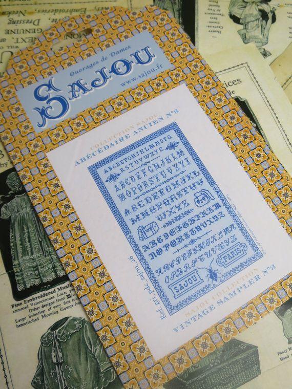 Sajou Vintage Samplers borduurwerk grafiek - nr. 3
