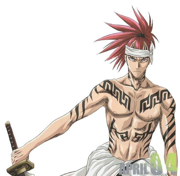 Renji Abari.  The Soul Reaper with one of the best zanpakutos.