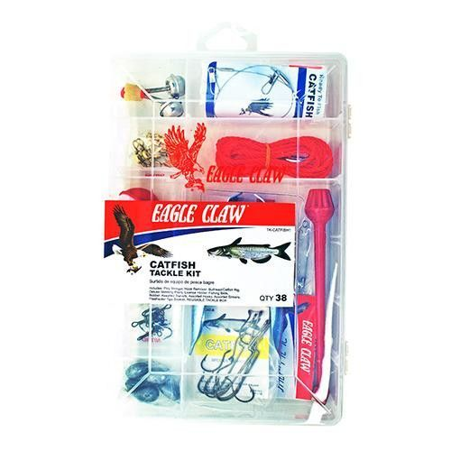 Catfish Tackle Kit, 38 Pieces