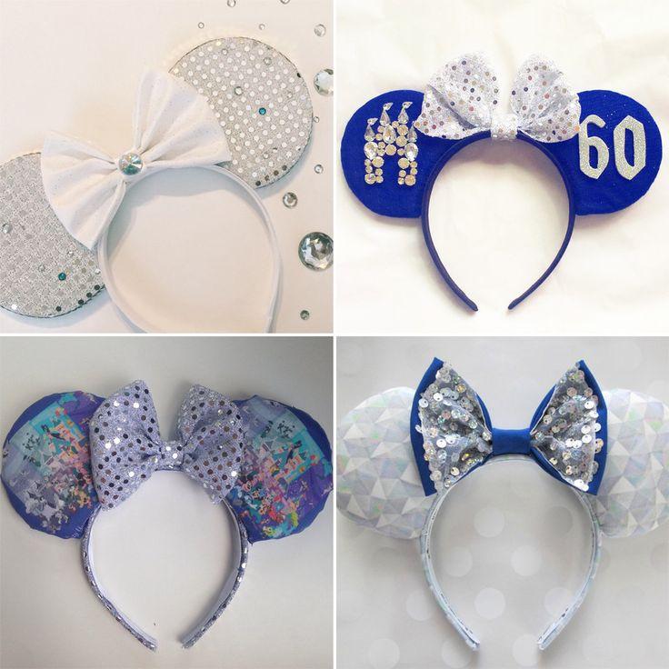 Channel Your Inner Disney Princess in These Diamond Disneyland Ears!