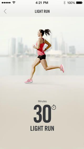 Nike Training Club #mobile #iPhone #UI