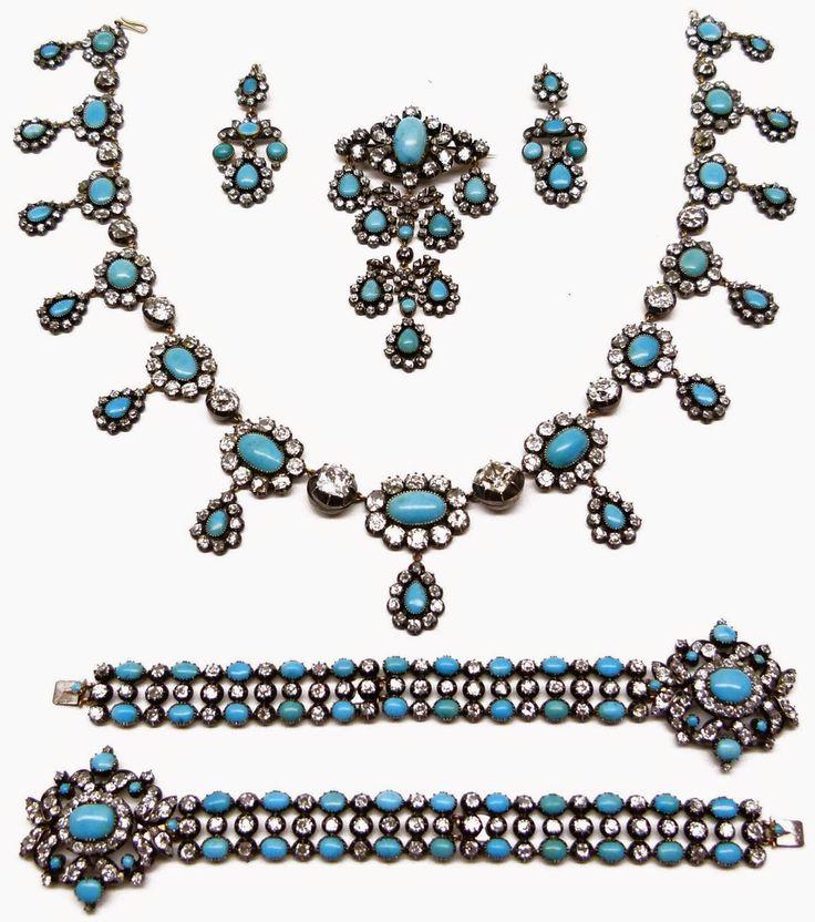 Tiara Mania: Turquoise Parure Tiara (Italy Royal Family) royal jewelry x