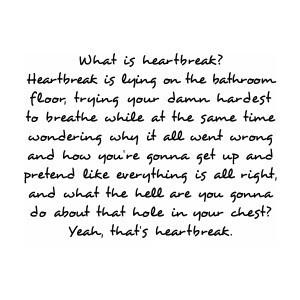 HeartbreakHeartbreak Quotes, Life, Heart Breaks, Sadness, Heartbroken Quotes, Heart Breaking, So True, Love Quotes, Feelings