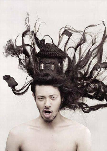 Mai kedvenc #férfifrizura #Hair art by Nagi Noda, modeled by Joe Odagiri