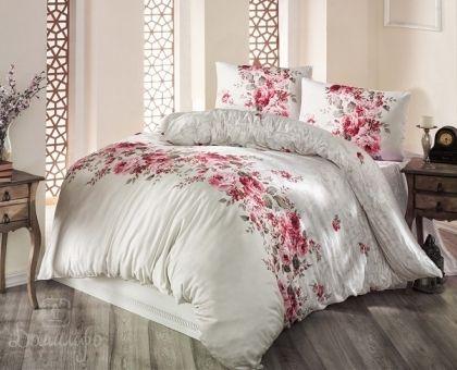 Купить постельное белье RANFORCE BELISSA бежевое 50х70 евро от производителя Altinbasak (Турция)