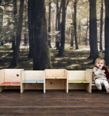 This would make a great waiting room. Perludi | Little Fashion Week