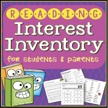 Best 25+ Reading interest inventory ideas on Pinterest Interest - student survey template