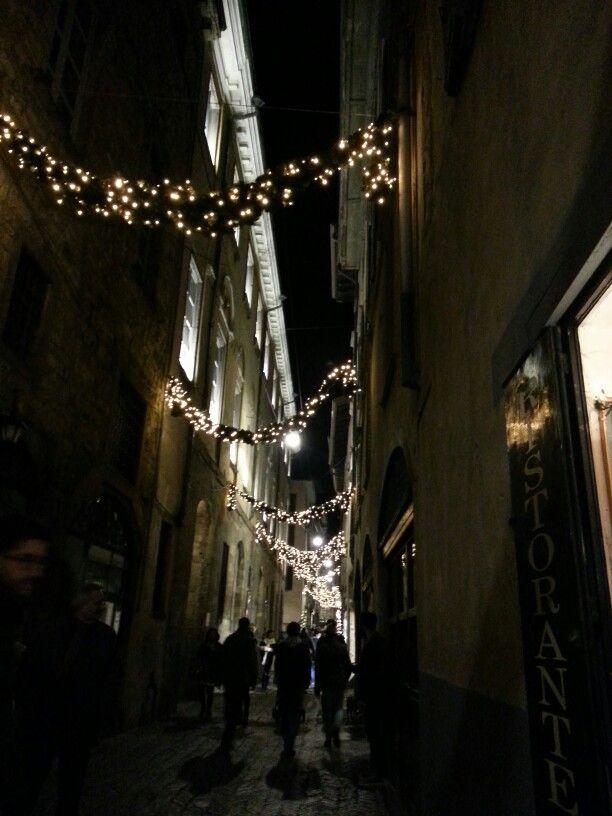 Notte bianca in Città Alta - atmosfera natalizia