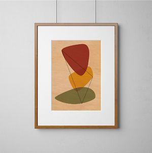 Mid-Century-Modern-Eames-Style-Print-Wood-Wall-Art-Digital-Print-On-Wood