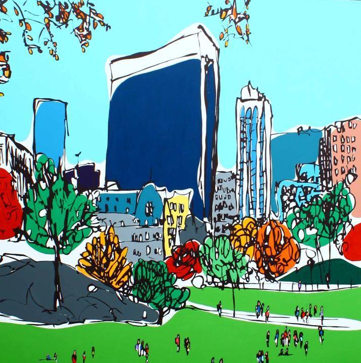 New York Central Park - Rachel Tighe