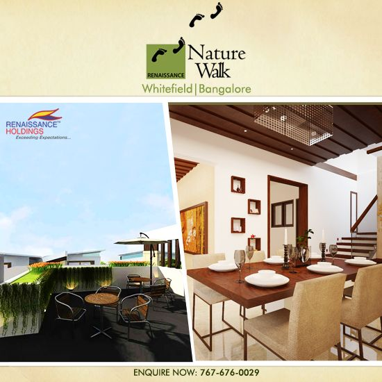 Want a green home? Renaissance Woods is located close to the Jalahalli Air Force Station and Jarkabandi State Forest. #RenaissanceWoods