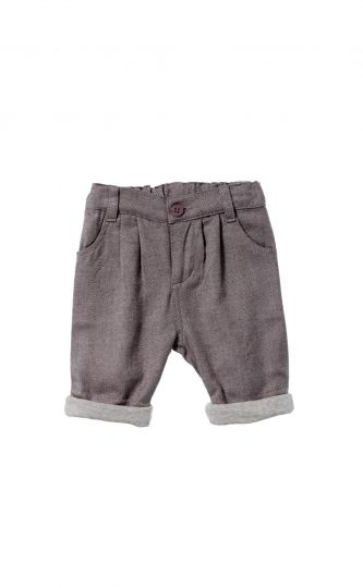Boys Tweed Pant
