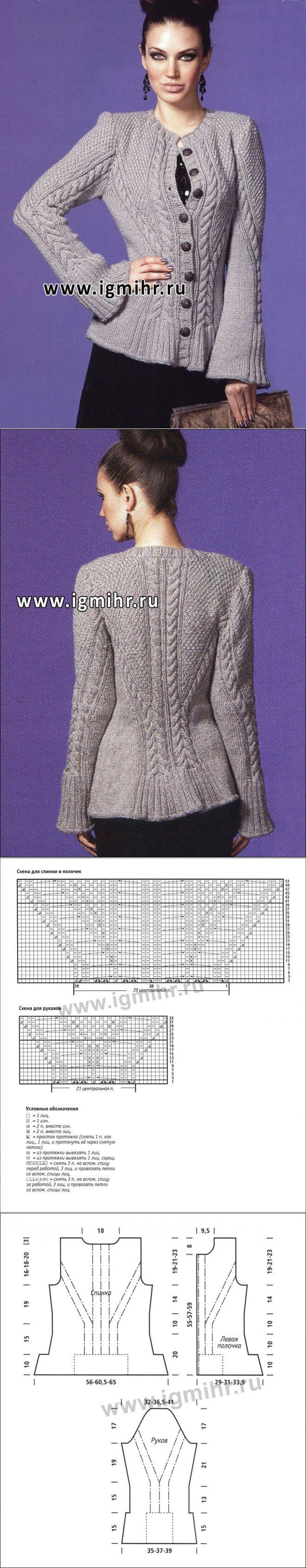 针织长袖开衫 - 蕾妮的日志 - 网易博客 | вязание | Постила