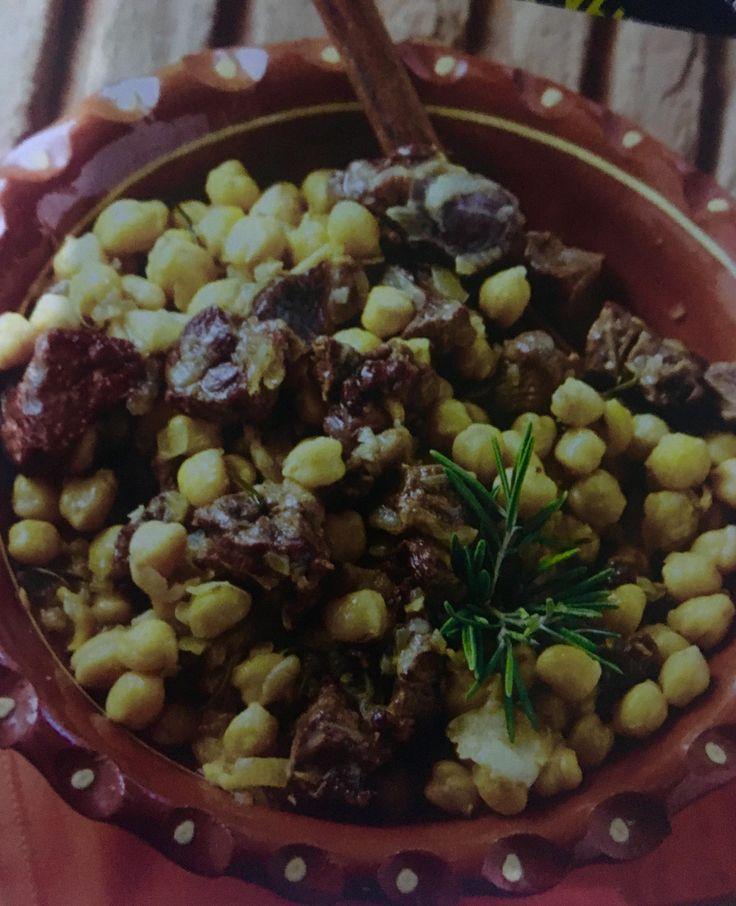 Ρεβίθια με αρνί (3 μονάδες) | Diaitamonadwn.gr