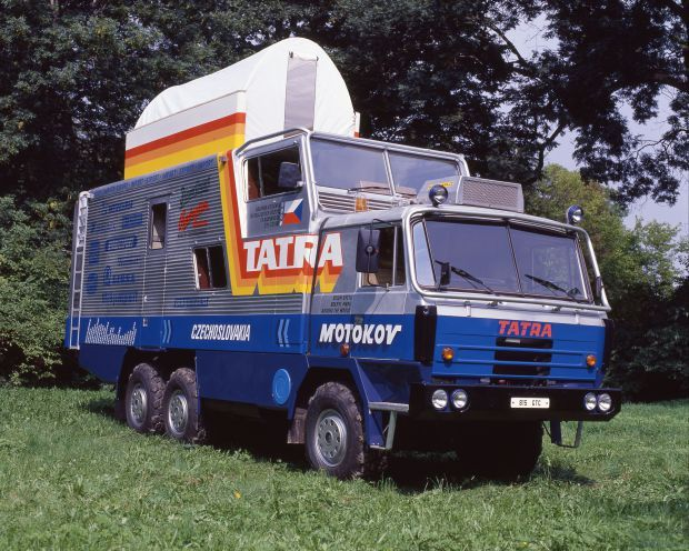 Fotogalerie: Tatra na cestě kolem světa. Serpentin v Andách jsme se báli, přiznává řidič | Dnešní Plus