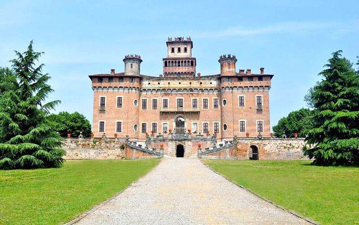 "Monumental Complex Castle Procaccini. Castle of Chignolo Po was called and known worldwide as ""the Versailles of Lombardy""."