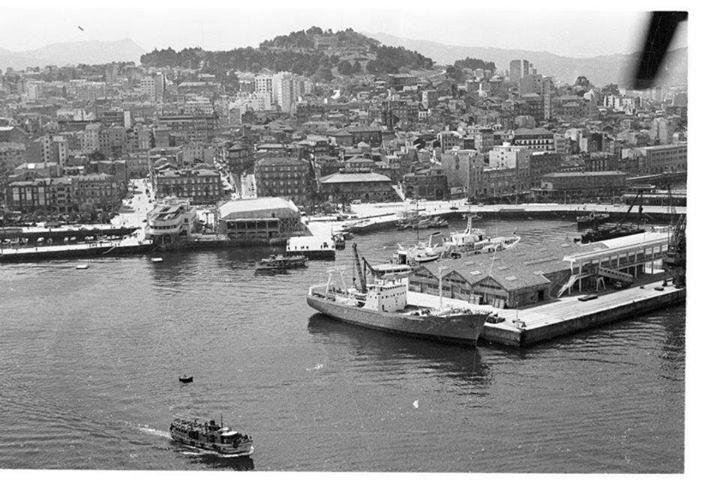 Vigo Puerto años 60