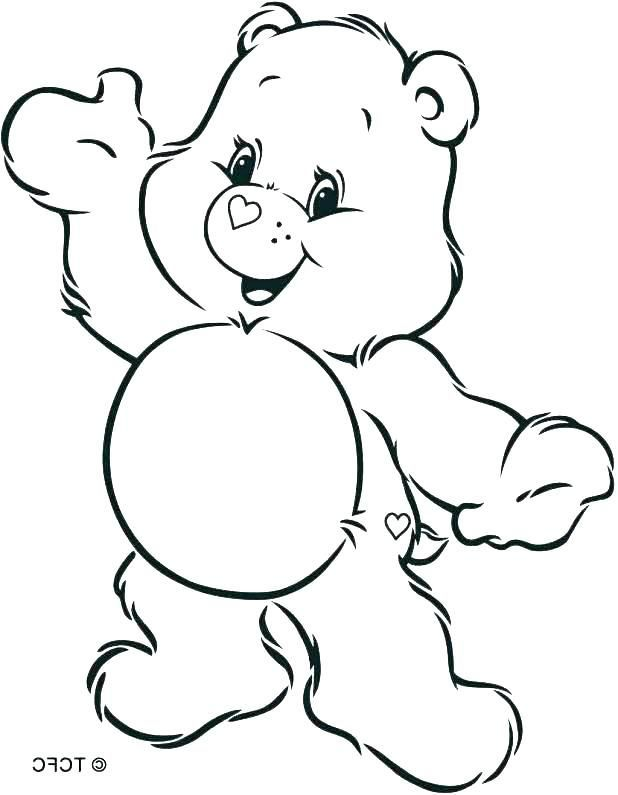 Care Bears Coloring Pages Bedtime Bear 1 Gif 540 720 Bear Coloring Pages Coloring Pages Disney Coloring Pages