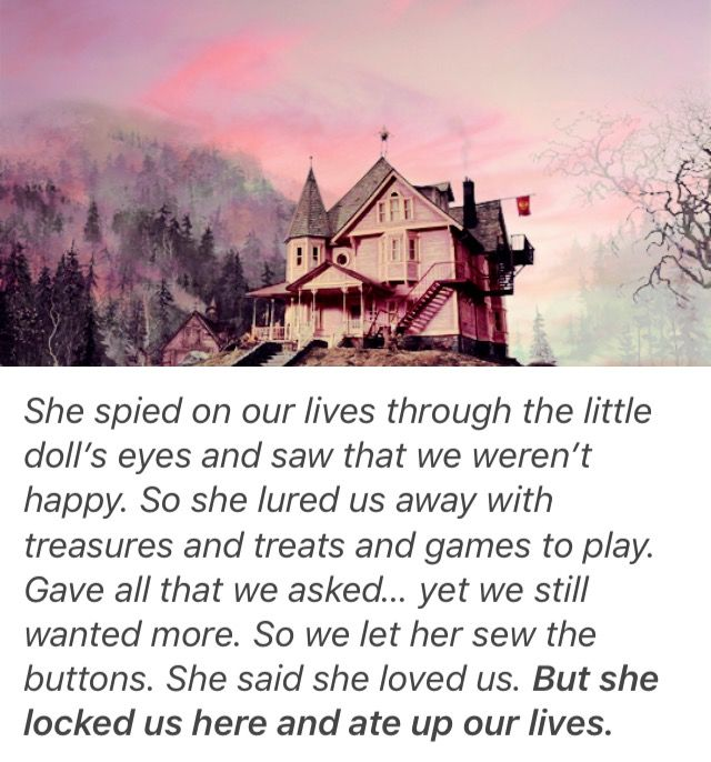 One of my favorite Coraline quotes