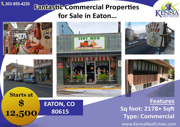 Fantastic Commercial Properties for Sale in Eaton… www.KennaRealEstate.com  #Commercial, #Property, #Sale