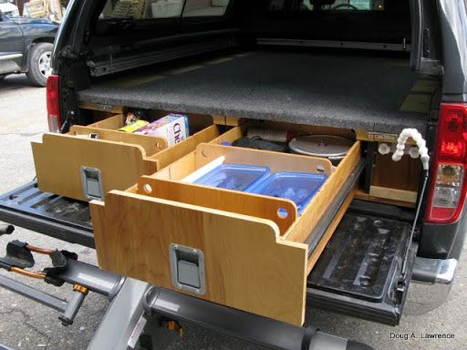 76 best diy car vault / truck bed drawers images on pinterest