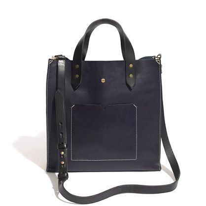 this black tote is fab!