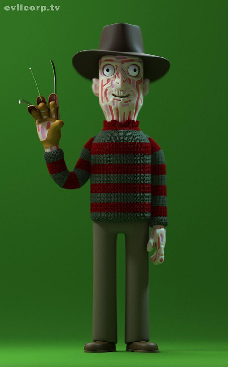 Linha de toys mostra personagens de filmes de terror de um jeito que você nunca viu antes