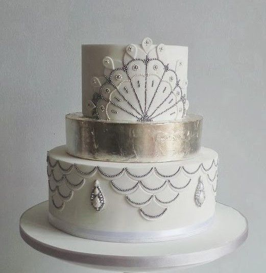 17 Best ideas about Art Deco Cake on Pinterest Art deco ...