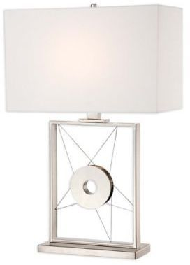 George Kovacs® Portables Table Lamp with Polished Nickel Finish