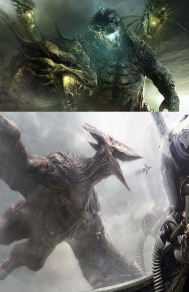 """First Look At The Monsters From """"Godzilla 2"""", probably fake, but I WANT KING GHIDORAH"""