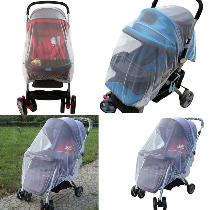 Outdoor Stroller Pushchair Mosquito Insect Net Mesh Buggy Cover for Baby Toddler S01