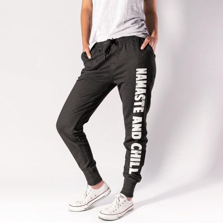 Joggers - Namaste And Chill - Jogger - Sweatpants
