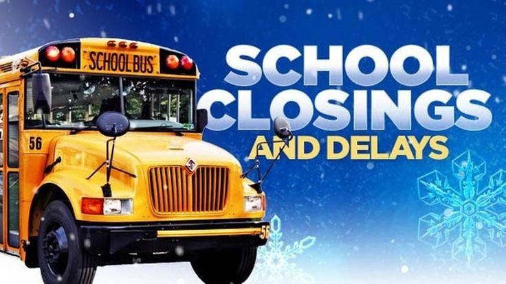 School Closings & Delays - Monday, November 30