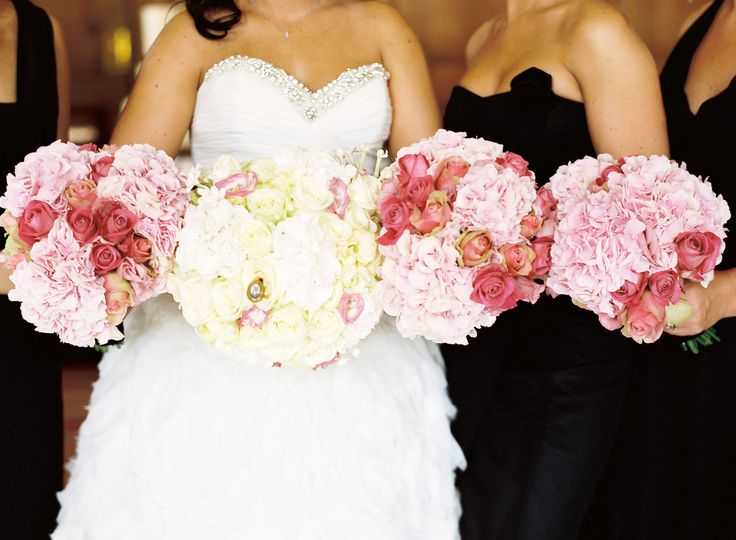 Bridal bouquets of loveliness...