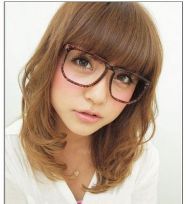 Japanese Girl With Glasses