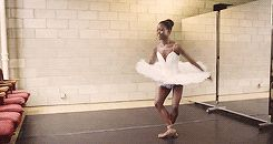 "tiaraloveskandlupita: "" Michaela DePrince ↪ Taking Flight Book Trailer (x) """