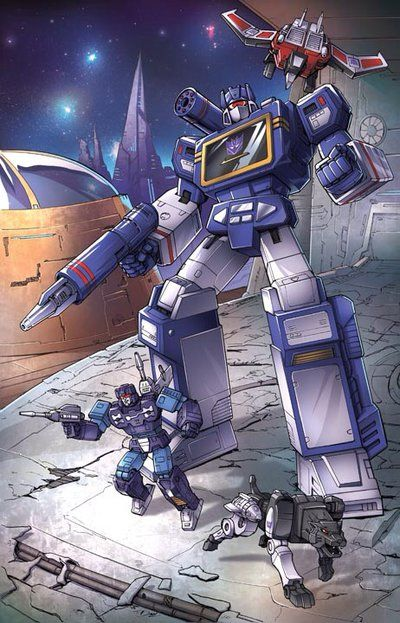 Transformers - Soundwave Superior by Dan-the-artguy.deviantart.com on @deviantART
